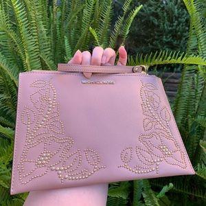 Michael Kors Bags - Michael Kors Nouveau Floral Large Zip Clutch